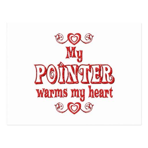 POINTER Love Postcard