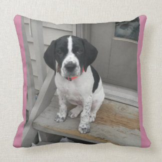 Pointer Love Throw Pillow