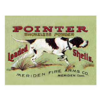 Pointer Post Card