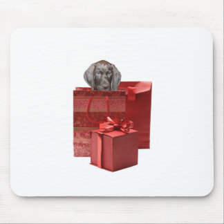 Pointer Puppy Christmas Gifts Mouse Pad