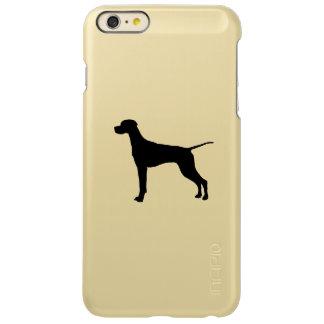 Pointer Silhouette Love Dogs Incipio Feather Shine iPhone 6 Plus Case