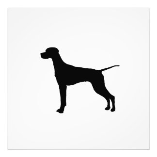 Pointer Silhouette Love Dogs Photo Print