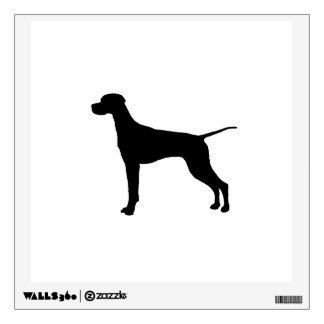 Pointer Silhouette Love Dogs Wall Sticker