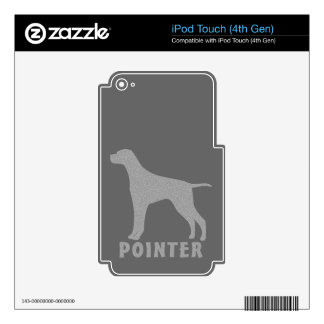 Pointer iPod Touch 4G Decal