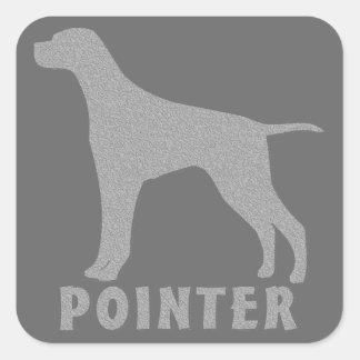 Pointer Square Sticker