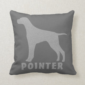 Pointer Throw Pillow