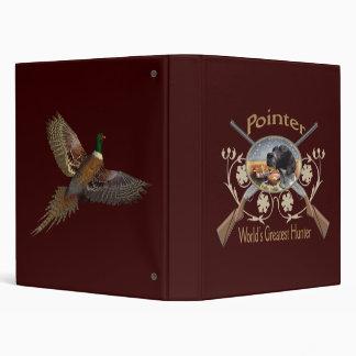Pointer World s Greatest Hunter Album Vinyl Binder