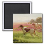 Pointers in a Landscape, 19th century Refrigerator Magnets