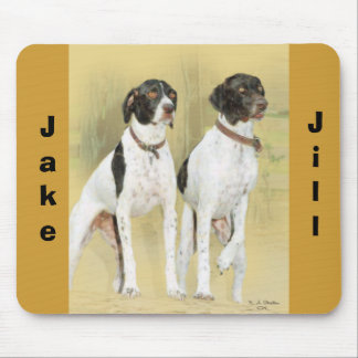 Pointers, Jake, Jill Mouse Pad