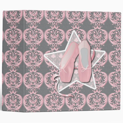 Pointes Shoes Binder