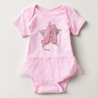 Pointes shoes Body Suit Baby Bodysuit