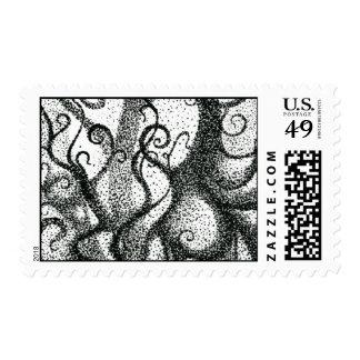 Pointillist Postage