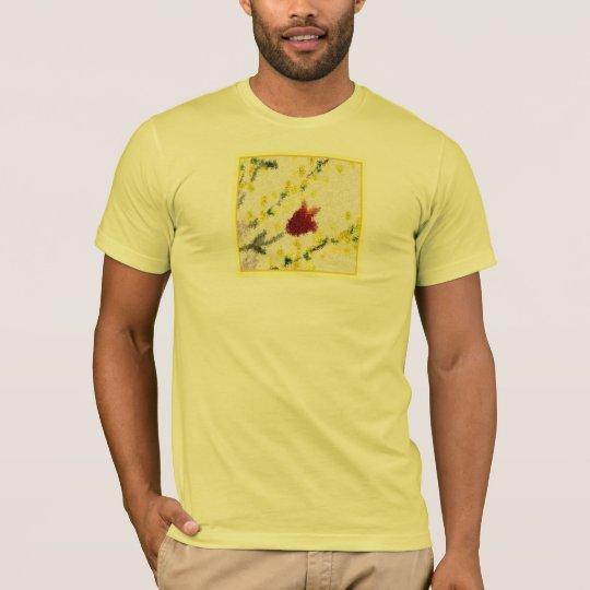 Pointillist Spring Flowers Shirt