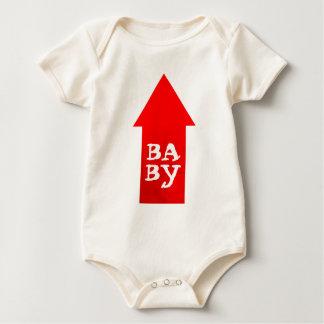 Pointing Arrow Baby Bodysuit