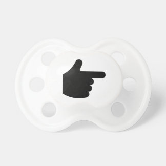 Pointing Finger Pacifiers