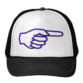 Pointing Finger Trucker Hat