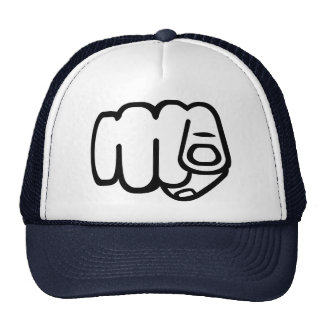 Pointing Finger - You Trucker Hat