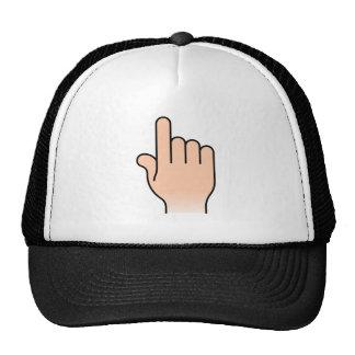 Pointing Hand Trucker Hat