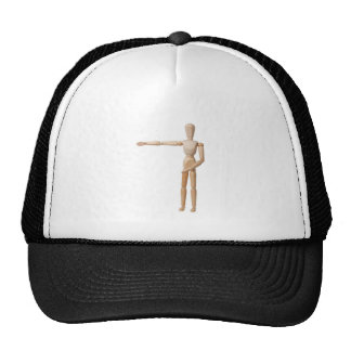 Pointing Left Trucker Hat