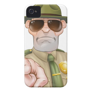 Pointing Park Ranger iPhone 4 Case
