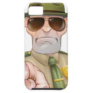 Pointing Park Ranger iPhone SE/5/5s Case