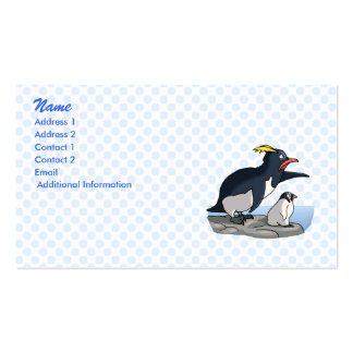 Pointing Penguins Business Card