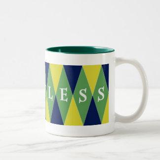 Pointless Argyle Mug