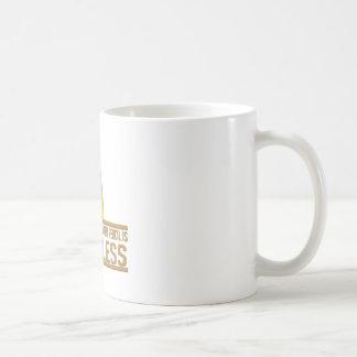 Pointless Broken Pencil Coffee Mugs
