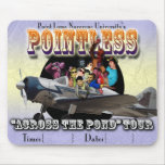 Pointless Europe Tour Mouse Pad
