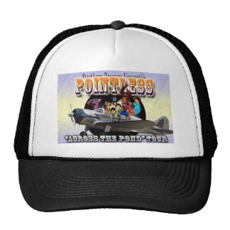 Pointless Europe Tour Trucker Hats