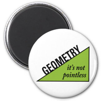 Pointless Geometry 2 Inch Round Magnet