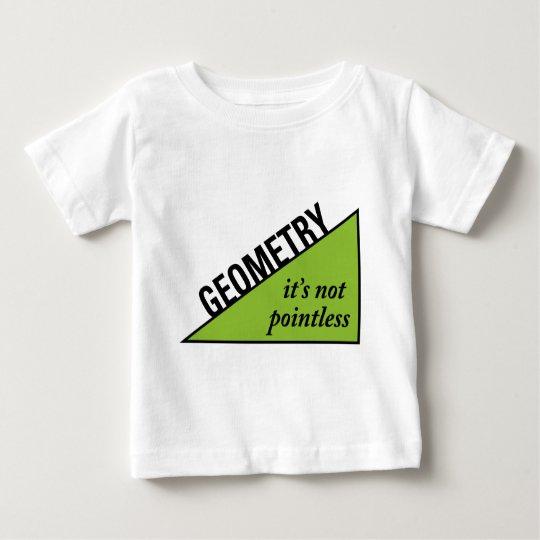 Pointless Geometry Baby T-Shirt