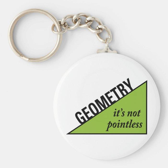 Pointless Geometry Keychain
