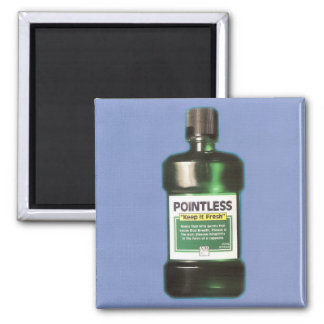 """Pointless's 2006 Album, """"Keep It Fresh"""" 2 Inch Square Magnet"""