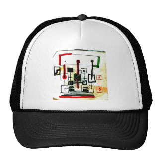 Points and links trucker hat