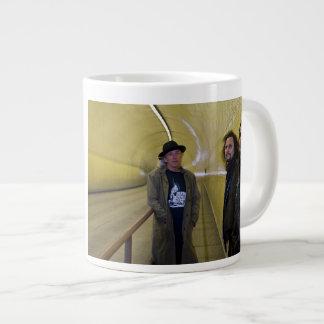 "Points North ""Broadway Tunnel"" Jumbo Mug 20 Oz Large Ceramic Coffee Mug"