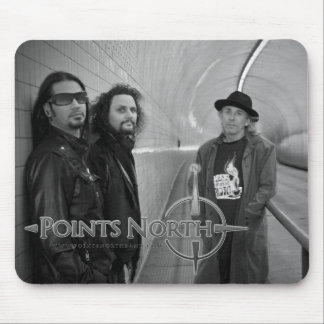"""Points North """"Broadway Tunnel"""" Mouse Pad"""