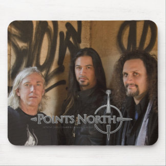 """Points North """"Graffiti"""" Mouse Pad"""
