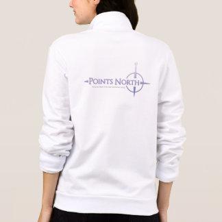Points North Logo Women's Fleece Zip Jogger - Jackets