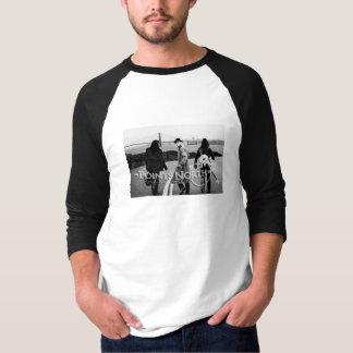 "Points North ""San Francisco Skyline - Men's Raglan T-Shirt"