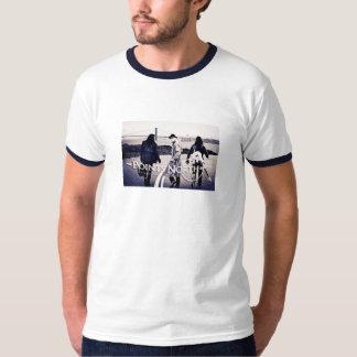 "Points North ""San Francisco Skyline"" - Ringer T-Shirt"