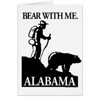 Points North Studio 'Bear With Me' Alabama Card