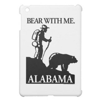 Points North Studio 'Bear With Me' Alabama iPad Mini Cover