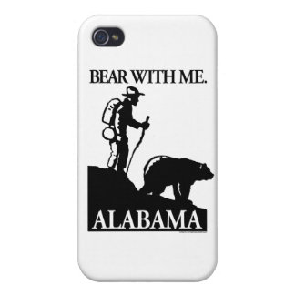 Points North Studio 'Bear With Me' Alabama iPhone 4/4S Case