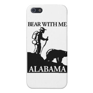 Points North Studio 'Bear With Me' Alabama iPhone SE/5/5s Case