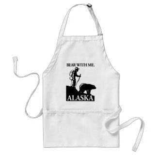 Points North Studio 'Bear With Me' Alaska Adult Apron