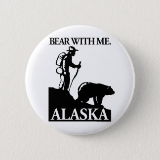 Points North Studio 'Bear With Me' Alaska Button