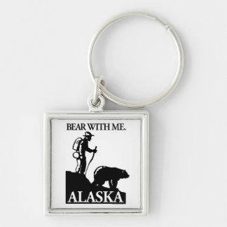 Points North Studio 'Bear With Me' Alaska Keychain