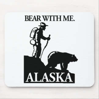Points North Studio 'Bear With Me' Alaska Mouse Pad