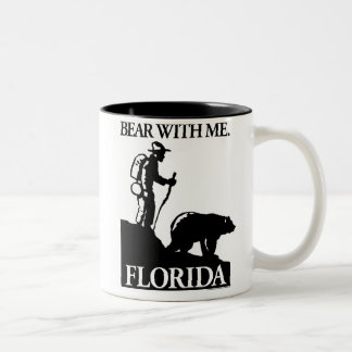 Points North Studio 'Bear With Me' Florida Two-Tone Coffee Mug